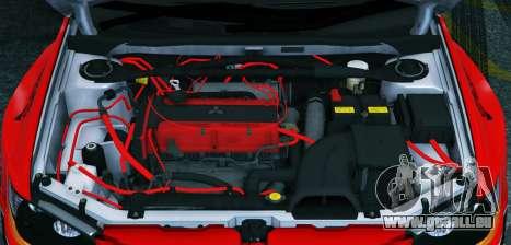 GTA 5 2006 Mitsubishi Lancer Evolution IX 2.0 hinten links Seitenansicht