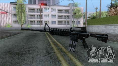 M4A1 Assault Rifle pour GTA San Andreas deuxième écran