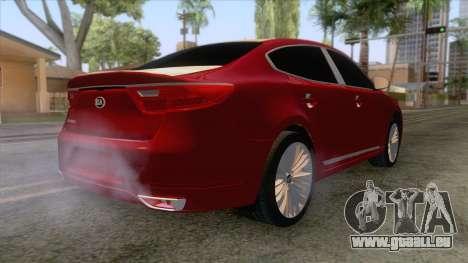 Kia Cadenza 2017 pour GTA San Andreas