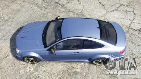 GTA 5 Mercedes-Benz C63 AMG (C204) 2012 v1.1 [replace] Rückansicht