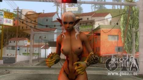Tera Elf Seminude für GTA San Andreas
