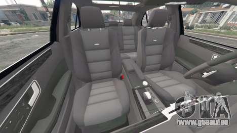 GTA 5 Mercedes-Benz E63 AMG (W212) 2013 [replace] rechte Seitenansicht