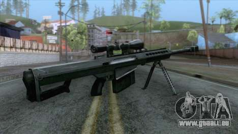 Barrett M82A1 Anti-Material Sniper Rifle v1 pour GTA San Andreas