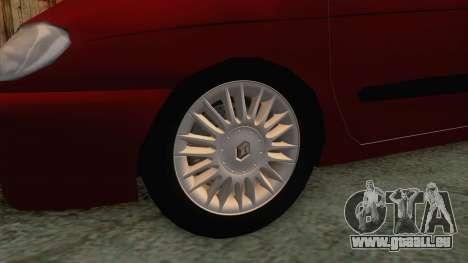 Renault Megane Scenic für GTA San Andreas Rückansicht