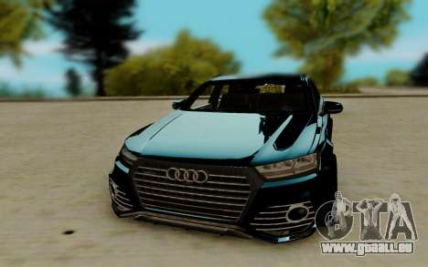 Audi QS7 ABT für GTA San Andreas Rückansicht