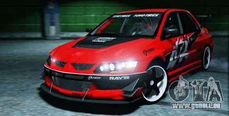 2006 Mitsubishi Lancer Evolution IX 2.0 für GTA 5
