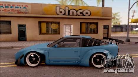 Nissan 180SX Rocket Bunny pour GTA San Andreas laissé vue