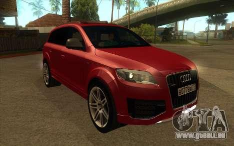 Audi Q7 pour GTA San Andreas