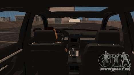 BMW E39 M5 pour GTA San Andreas vue intérieure