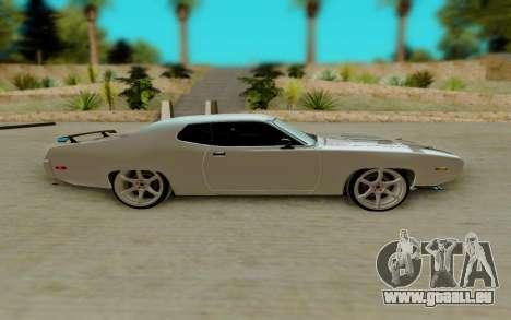 Plymouth GTX pour GTA San Andreas laissé vue