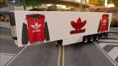 Remolque Adidas v.2 für GTA San Andreas