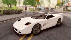 GTA IV Invetero Coquette Spyder IVF pour GTA San Andreas