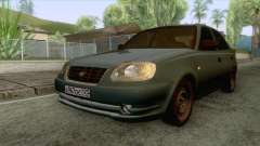 Hyundai Accent Stock für GTA San Andreas