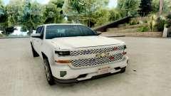 Chevrolet SIlverado 2017 Undercover Police pour GTA San Andreas