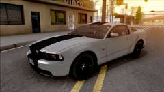 Ford Mustang GT 2010 SVT Rims pour GTA San Andreas
