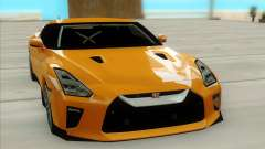 Nissan GTR 2017 pour GTA San Andreas