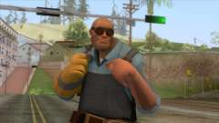 Team Fortress 2 - Engineer Skin v1 pour GTA San Andreas