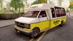 GTA V Brute Rental Shuttle Bus für GTA San Andreas
