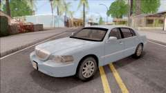 Lincoln Town Car L Signature 2010 IVF No Dirt für GTA San Andreas