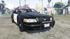 Ford Crown Victoria Highway Patrol [replace]