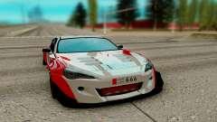 Subaru BRZ rot für GTA San Andreas