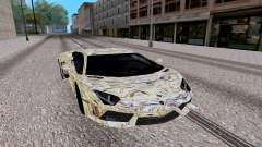 Lamborghini Aventador LP700 4 pour GTA San Andreas