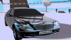 Mercedes-Benz S-class W220 pour GTA San Andreas