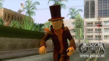 Prof Hershel Layton Skin pour GTA San Andreas