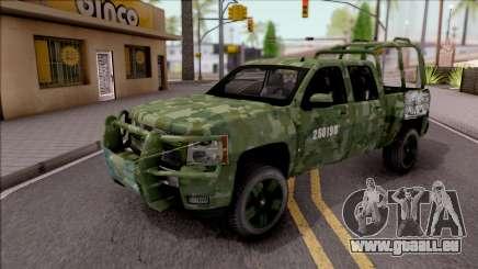 Chevrolet Silverado Auto Militar De Guatemala pour GTA San Andreas