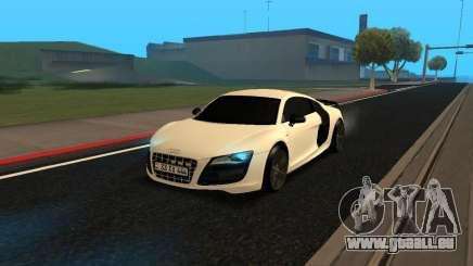 Audi R8 V10 Armenian pour GTA San Andreas