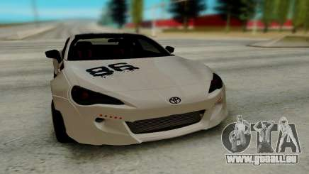 Toyota GT86 TRD pour GTA San Andreas