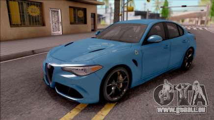 Alfa Romeo Giulia Quadrifoglio 2017 für GTA San Andreas
