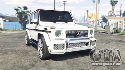 Mercedes-Benz G 65 AMG (W463) v1.1 [replace] pour GTA 5