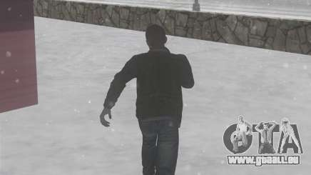 Winter-Spuren für GTA San Andreas