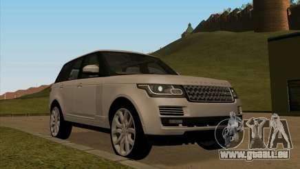 Land Rover Range Rover Vogue pour GTA San Andreas