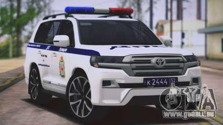 Toyota Land Cruiser 200-DPS région de Nijni Novgorod pour GTA San Andreas