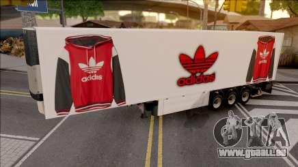 Remolque Adidas v.2 pour GTA San Andreas