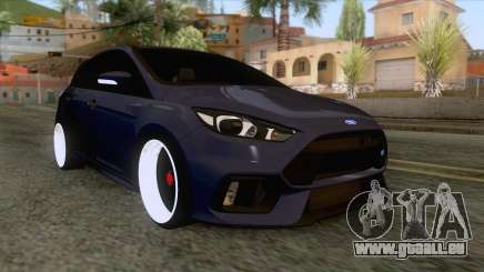 Ford Focus RS Hatchback 2017 pour GTA San Andreas