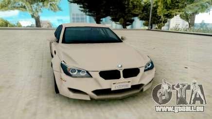BMW M5 E60 Lumma Edition pour GTA San Andreas