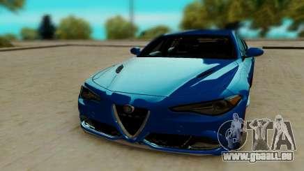 Alfa Romeo Giulia pour GTA San Andreas