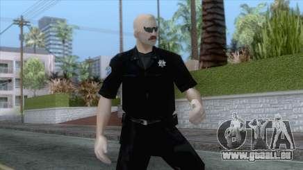 New Sfpd1 Skin pour GTA San Andreas