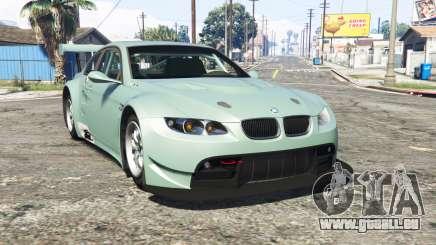 BMW M3 GT2 (E92) [replace] pour GTA 5