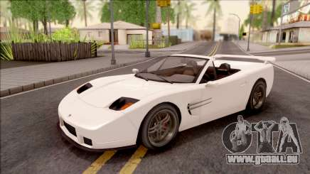 GTA IV Invetero Coquette Spyder IVF für GTA San Andreas