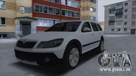 Skoda Octavia Scout pour GTA San Andreas