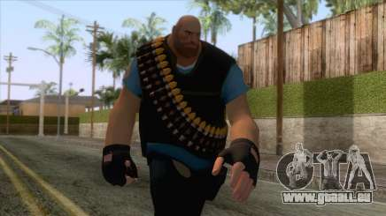 Team Fortress 2 - Heavy Skin v1 pour GTA San Andreas