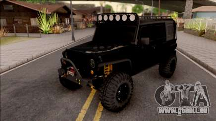 Jeep Wrangler Rubicon Off-Road für GTA San Andreas
