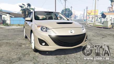 Mazdaspeed3 (BL) 2010 [replace] für GTA 5