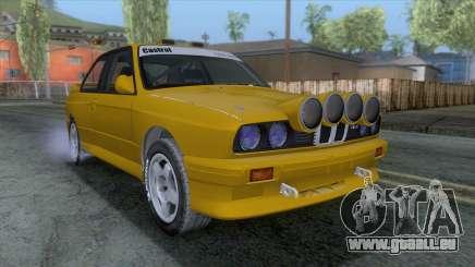 BMW M3 E30 1986 v1 pour GTA San Andreas