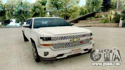 Chevrolet SIlverado 2017 Undercover Police für GTA San Andreas