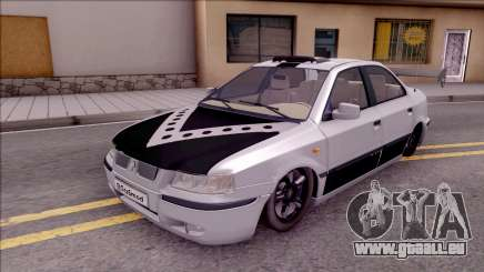 Iran Khodro Samand LX Full Sport pour GTA San Andreas